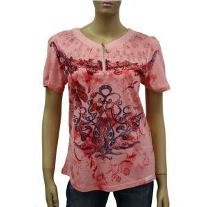 Blue Willi`s Damen T-Shirt  Butterfly 43136-9131-5625