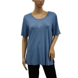 Adelina Damen T-Shirt Strass 18458/0