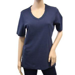 Bluhmod Damen T-Shirt 1/2 Arm V-Ausschnitt 8-1044