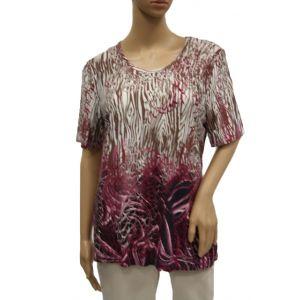Adelina Damen T-Shirt 1/2 Arm 83091 - Bis Größe 54