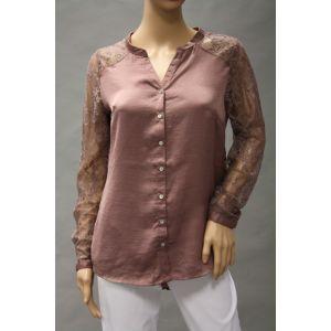 Eight2Nine Damen Bluse mit Spitze D5221Y10605AEN